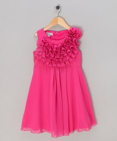 Take a look at this Pink Glimmer Dress - Girls by Kathe Kruse on #zulily today!