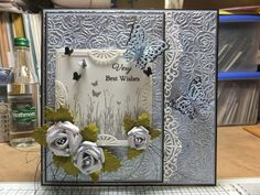 Drakes Field Cards: With Best Wishes Drake, Wish, Birthday Cards, Card Making, Greeting Cards, Diy Crafts, Handmade Cards, Sue Wilson, Creative