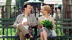 Joe (Tom Hanks), Kathleen (Meg Ryan) ~ You've Got Mail (1998) ~ Movie Photos #amusementphile