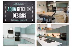 #aquadetails #aquakitchen #aquaaccents #modernkitchen #kitchendesign #Kitchenideas #kitchenfurniture #kitcheninspiration #kitchenideas #KUXAstudio #KUXA #KUXAkitchen #bucatariemoderna #bucatarie Aqua Kitchen, Modern Kitchen Design, Inspiration, Furniture, Table, Home Decor, Biblical Inspiration, Home Furnishings, Tables