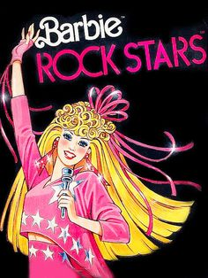 Barbie & The Rock Stars (as she and the band were known in Europe!).