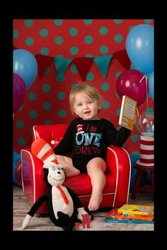 Dr Seuss Birthday Shirt!