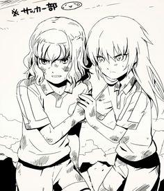 Inazuma eleven go - Kirino and Shindou