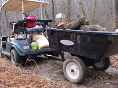 heavy hauler club car, great to use with a golf cart
