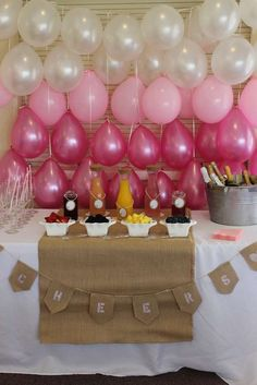 burlap, lace and pearls Baby Shower Party Ideas   Photo 1 of 15   Catch My Party