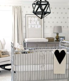 Homeowners Monika and Troy Hibbs dream up a soothing and sophisticated retreat for their handsome little one.
