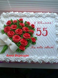 Cakes Buttercream Cake Designs, Buttercream Flowers, Cake Icing, Eat Cake, Cupcake Cakes, Unique Cakes, Creative Cakes, Sheet Cake Designs, Pink Birthday Cakes