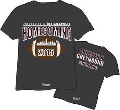 homecoming t shirts 2015 university of indianapolis - Homecoming T Shirt Design Ideas