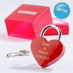 #design3000 #valentine Personalisierbares Herzschloss