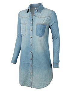 873c4617db3 Oversized Denim Shirt