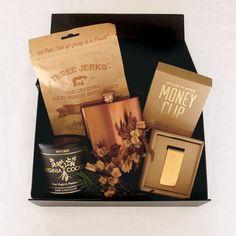 Curated Groomsman Gift. Groomsmen Staples Gift Box.