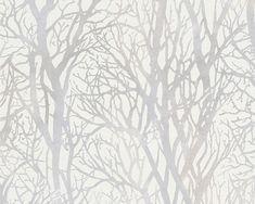 Tapeta ścienna w drzewa Life 4 30094-1 AS Creation Tapety na ścianę Vinyl Wallpaper, Tree Wallpaper For Walls, Tree Branch Wallpaper, Pearl Wallpaper, Buy Wallpaper Online, Forest Wallpaper, Metallic Wallpaper, Embossed Wallpaper, Modern Wallpaper