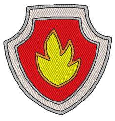 Pat'Patrouille Badge Marcus Paw Patrol - Marshall Badge diy