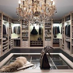 Explore the best of luxury closet design in a selection curated by Boca do Lobo to inspire interior designers looking to finish their projects. Discover unique walk-in closet setups by the best furniture makers out there House Design, House Interior, Luxury Closet, Luxury Homes, Closet Designs, Beauty Room, Dream Closets, Cozy House, Luxurious Bedrooms