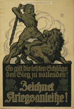 Examples of Propaganda from WW1 Listed by Country. | German WW1 Propaganda Posters Page 8