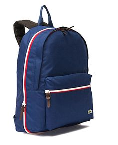 Preppy Lacoste Backpacks, $85.00 (http://www.purseladytoo.com/lacoste-backpacks/)