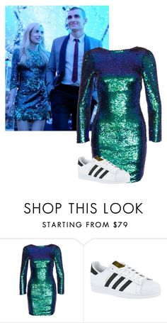 """""""Vee inspired //Nerve"""" by misscreepyashell ❤ liked on Polyvore featuring Club L and adidas"""