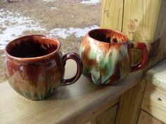 CCC Canadian Pottery Mugs
