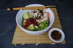 Poke Bowl, Buddha Bowl, Edamame, Key Lime, Cucumber, Exotic Fruit, Seasonal Recipe, Snap Peas, Kitchens