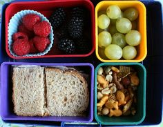 Bento kid lunches
