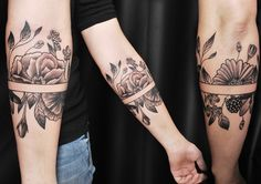 Freshly done, black and gray floral armband. Artist @martinssilins1 #flower #flowertattoo #floral #floraltattoo #floraldesign #tattoo #armtattoo #floralarmband #blackngray #blackandgray #leaves #berries #linework #bud #riga #tattooinriga #art #tattooink #ink #inked #skin #tattooartist #tattoofrequency #share #like #follow