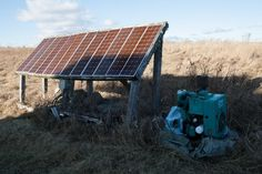 Generator and panels