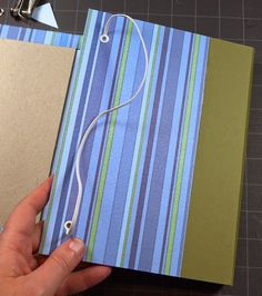 Lift Bridge Cards and Crafts: A Picnic in my Office - a handmade journal for work