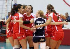 """Στους """"16"""" του CEV Cup τα κορίτσια του Ολυμπιακού! - http://www.greekradar.gr/stous-16-tou-cev-cup-ta-koritsia-tou-olimpiakou/"""