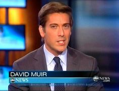 David Muir to Succeed Diane Sawyer as ABC World News Anchor
