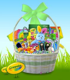 Enter to WIN a prize pack in Crayola's Springtime Instant WIN Game ENTER DAILY - ENDS 3/31
