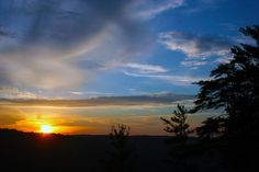 Scott County Tennessee  Big South Fork Sunset