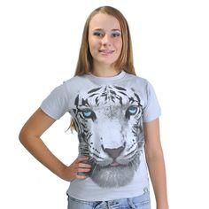 Blusa Feminina Tigre 3D