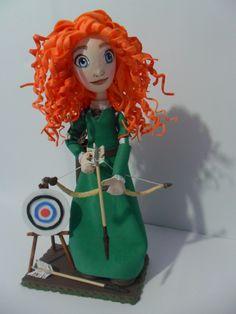 """Destacar el estilo medieval rústico  """"Brave"""",  princesa Valiente…"""