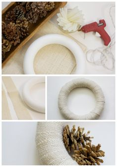 Easy diy Winter Pine