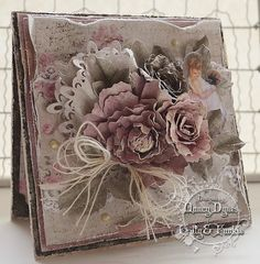 Tattered Treasures: 'Layer it Up' Challenge at Frilly and Funkie!