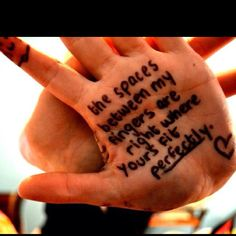 I'm.so writing this on my hand...