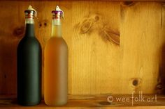 Homemade : KAHLUA – Makes 1/2 gallon & BUTTERSCOTCH LIQUEUR – 1 Quart