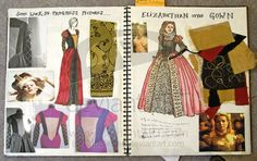 Fashion Sketchbook 1 by Criddlebee on deviantART