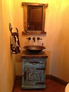 Country spair bathroom