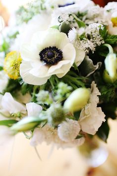#anemone  Photography: Jenna Walker Photographers - jennawalkerphotography.com Wedding Planning: Muse Events - museevents.com Wedding Coordination: I Do Wedding Services - IDoWeddingServices.com Floral Design: Bella Fiori Events - bellafiori-events.com