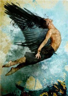 Abner Recinos - Flight of Icarus - Guatemala Art - Artwork Details