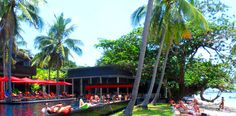 Party Ambiance at The Coast Resort in Haadrin on Koh Phangan, Thailand