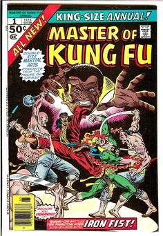 Master of Kung Fu and Iron Fist