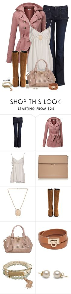 """""""Spring out of Winter"""" by exxpress ❤ liked on Polyvore featuring Sud Express, J.TOMSON, PINK MEMORIES, Marni, Sara Weinstock, Yves Saint Laurent, Burberry, Salvatore Ferragamo, Apt. 9 and OPI"""
