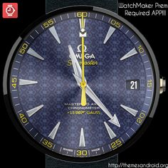 WatchFace Omega 007 Sea-Master [Replica]