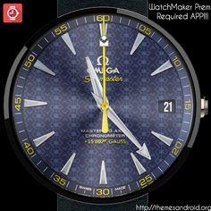 WatchFace Omega 007 Sea-Master [Replica]