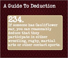 A Guide to Deduction: true facts Writing Tips, Writing Prompts, Guide To Manipulation, A Guide To Deduction, The Science Of Deduction, Detective, How To Read People, Psychology Facts, The More You Know