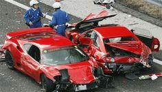 Expensive car crash...:)