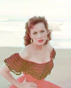 Another beautiful redhead, Maureen O'Hara