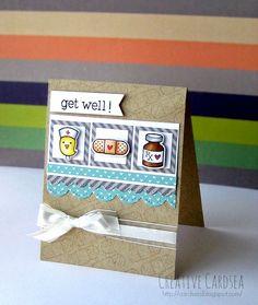 Creative Cardsea: Lawn Fawn - Get Well